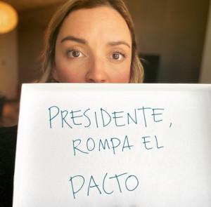 Regina Blandón, actriz